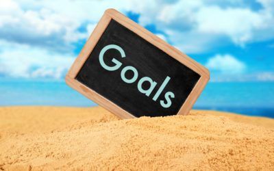 Why it's important to write your goals in sand
